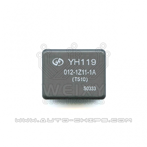 YH119 012-1Z11-1A relay use for automotives BCM