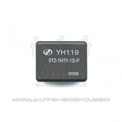 YH119 012-1H11-1S-P relay use for automotives BCM