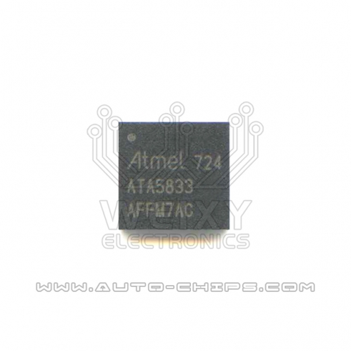 ATA5833 chip use for automotives keys