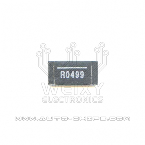 R0499 resistor use for automotives