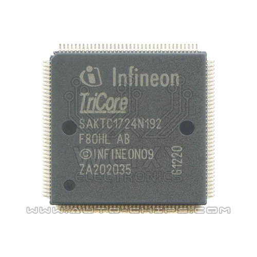 SAKTC1724N192F80HL AB MCU chip use for automotives ECU