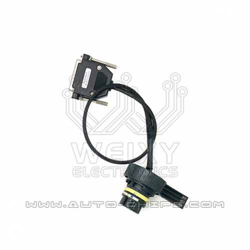 Test platform cable specially designed for BMW 6HP EGS TCU to work with autohex II