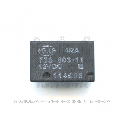 736 803-11 12VDC relay use for automotives