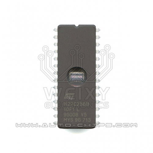 M27C256B-10F1L flash chip use for automotives ECU