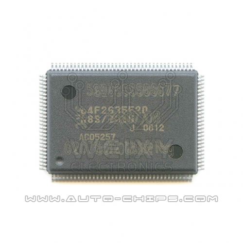 64F2635F20 chip use for automotives