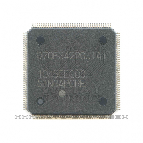 D70F3422GJ(A) MCU chip use for automotives