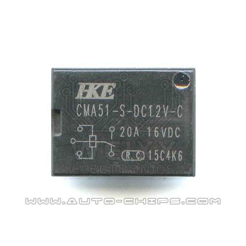 CMA51-S-DC12V-C relay use for automotives BCM