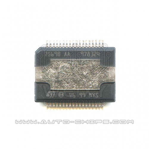 7569B AA chip use for automotives radio