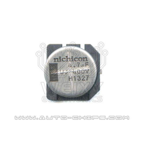 4.7uf 400V 16MM X 16MM capacitor use for automotives