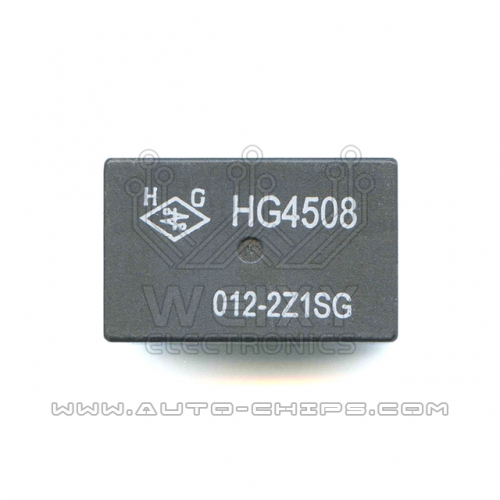 HG4508 012-2Z1SG relay use for automotives BCM