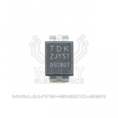 TDK ZJY51 chip use for automotives ECU