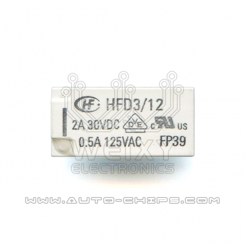 HFD312 2A 30VDC relay use for automotives BCM