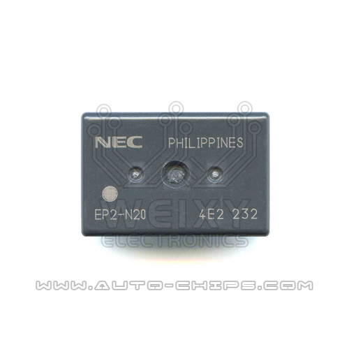 EP2-N20 relay use for automotives BCM