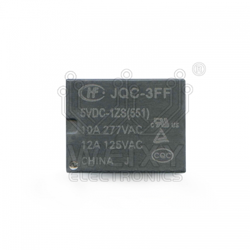 JQC-3FF-5VDC-1ZS (551) relay use for automotives BCM