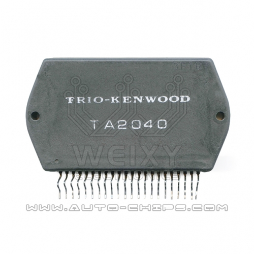 TRIO-KENWOOD TA2040 chip use for automotives