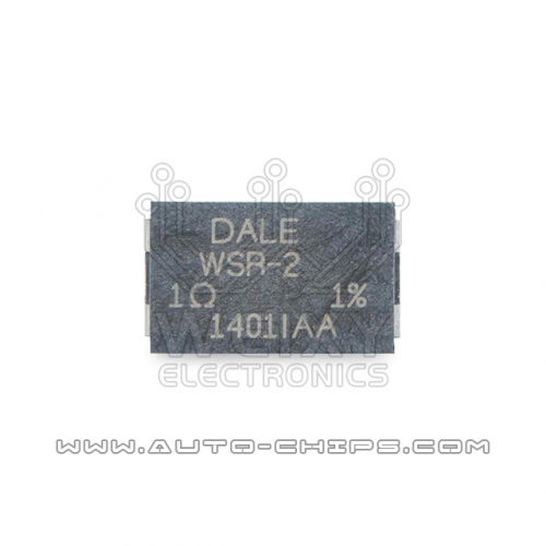 DALE WSR-2 1R resistor used for automotives ECU