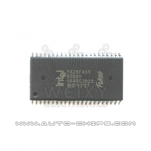 PA28F400-B5B80 flash chip used for Volvo