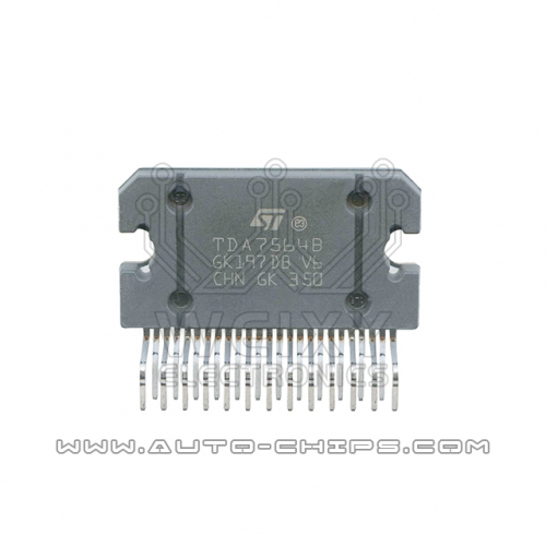 TDA7564B chip used for automotives radio
