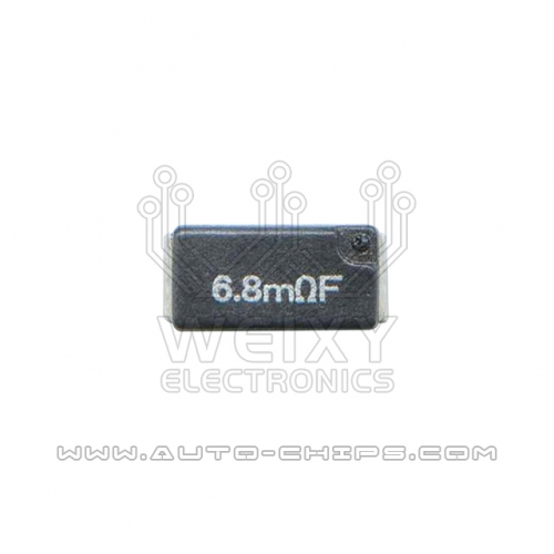6.8mRF resistor used for automotives