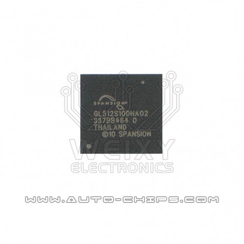 GL512S10DHA02 BGA chip used for automotives radio
