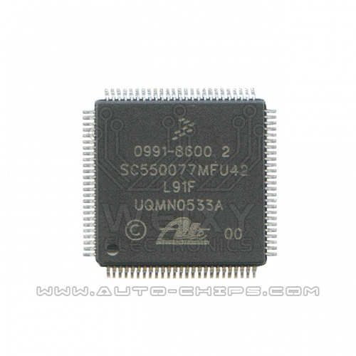 0991-8600 2 SC550077MFU42 chip for automotives ATE MK60 ABS ESP