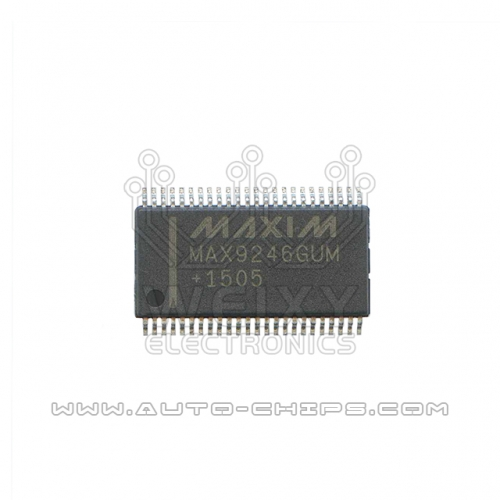 MAX9246GUM chip use for automotives
