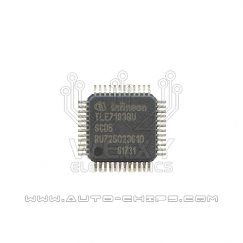 TLE7183QU chip use for automotives ECU