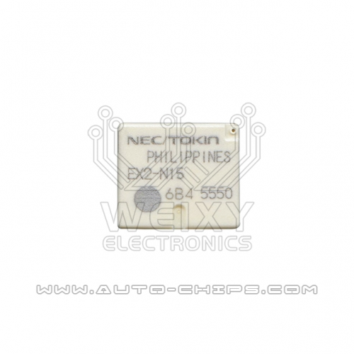 EX2-N15 relay use for automotives BCM