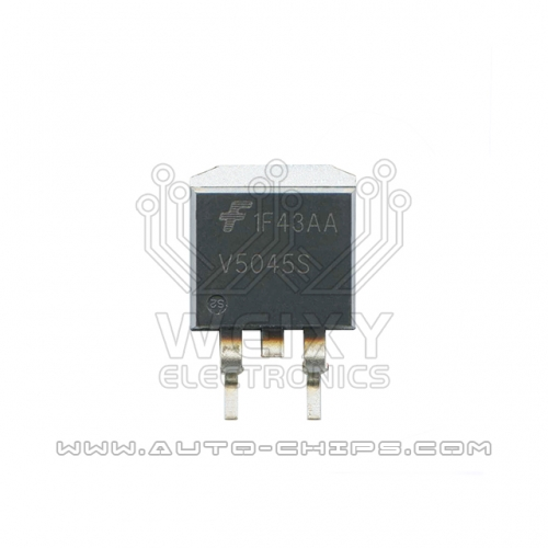 V5045S ignition driver chip use for automotives ECU