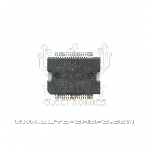 L9131  Commonly used power driver chip for Fiat MARELLI ECU