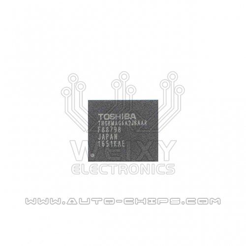 TOSHIBA THGBMAG6A2JBAAR chip use for automotives radio