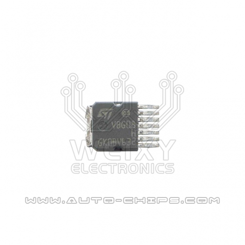 VBG08H ignition driver chip for automotives ECU