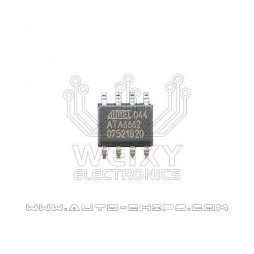 ATA6662 CAN communication chip use for automotives