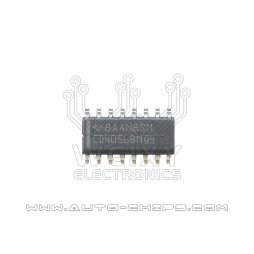 CD4056BM chip use for automotives