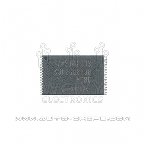 K9F2G08U0B-PCB0 chip use for automotives radio