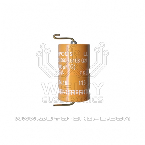 EPCOS B41690-S5158-Q21 1500uf 25V capacitor use for automotives ECU