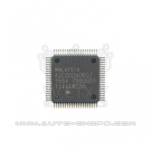 A2C00040637 MCU chip use for automotives