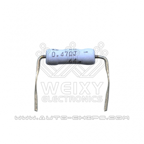 0.47ΩJ 0.47RJ resistor use for automotives