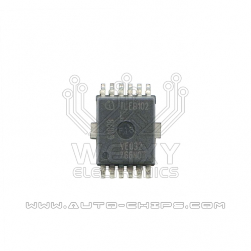 TLE8102L chip use for automotives