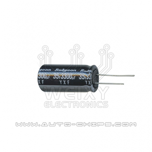35v 3300uf capacitor use for automotives