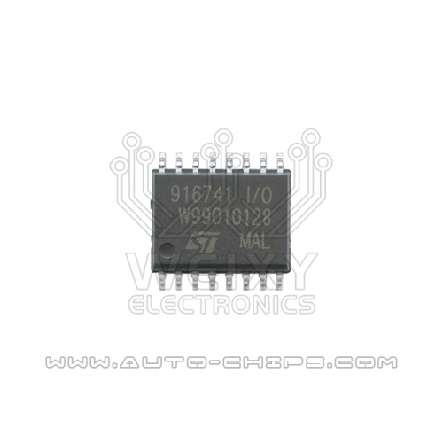 916741 I/O ignition driver chip use for automotives ECU