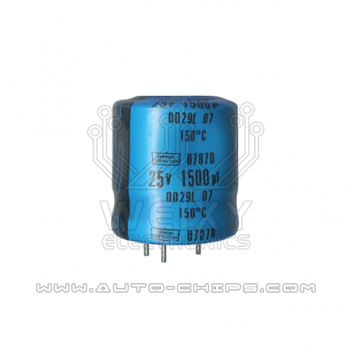 25v 1500uf capacitor use for Caterpillar CAT ECM