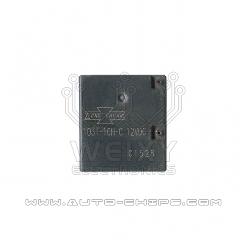 103T-1CH-C 12VDC relay use for automotives