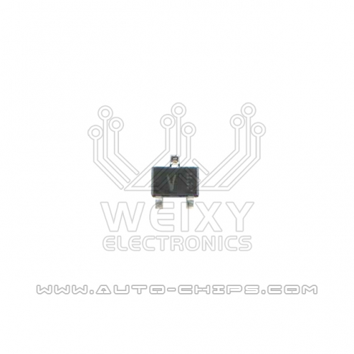 V 3PIN ignition driver chip for Mitsubishi ECU