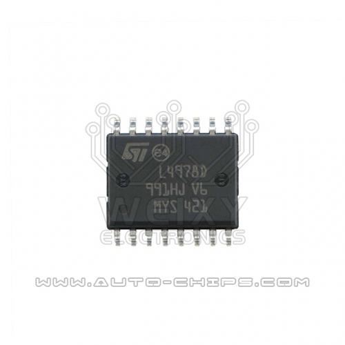 L4978D chip use for automotives ECU
