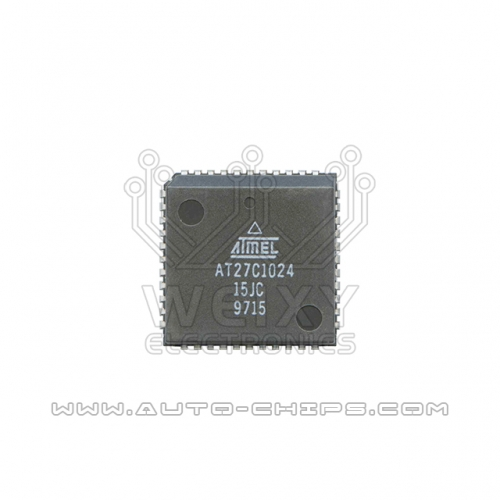 AT27C1024-15JC flash chip use for automotives ECU
