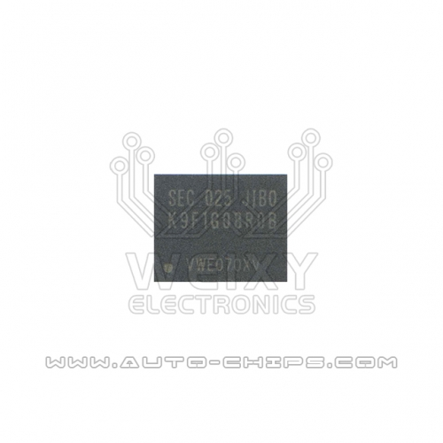 K9F1G08R0B BGA chip use for automotives radio