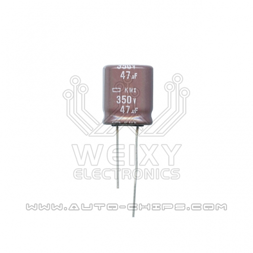 350V 47uf capacitor use for automotives ECU
