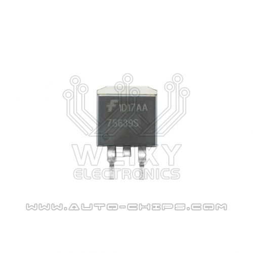 75639S ignition driver chip use for automotives ECU