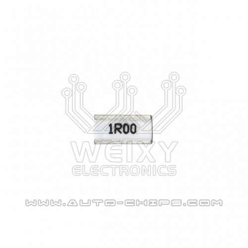 1R00 resistor use for automotives